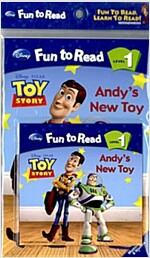 Toy Story : Andy's New Toy (Paperback + Workbook + Audio CD 1장)