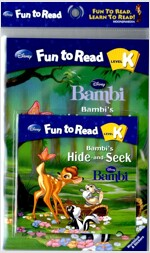 Bambi : Bambi's Hide and Seek (Paperback + Workbook + Audio CD 1장)
