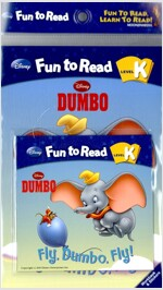 Dumbo : Fly, Dumbo, Fly (Paperback + Workbook + Audio CD 1장)