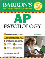 Barron's AP Psychology, 8th Edition: With Bonus Online Tests (Paperback, 8, Revised)