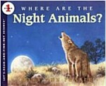 [중고] Where Are the Night Animals? (Paperback)