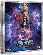 [3D 블루레이] 가디언즈 오브 갤럭시 Vol.2 (2disc: 3D+2D)