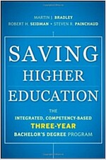 Saving Higher Education : The Integrated, Competency-Based Three-Year Bachelor's Degree Program (Hardcover)