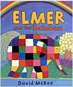 Elmer and the Rainbow : Board Book (Paperback)