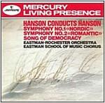 [중고] Howard Hanson - 핸슨: 교향곡 1 '노르딕', 2번 '낭만적' (Hanson: Symphony No.1 'Nordic'