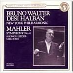 [중고] Bruno Walter - 말러: 교향곡 4번