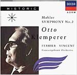 [중고] Otto Klemperer - 말러: 교향곡 2번 '부활' (Mahler: Symphony No.2 'Resurrection')