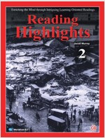 [중고] Reading Highlights 2 (Student book + Workbook + Audio CD)