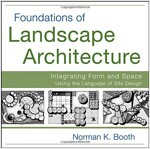 Foundations of Landscape Architecture : Integrating Form and Space Using the Language of Site Design (Paperback)