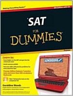SAT for Dummies [With CDROM] (Paperback, 8, Premier)