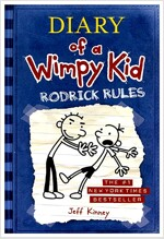 [중고] Diary of a Wimpy Kid # 2 - Rodrick Rules (Hardcover)