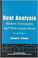 Real Analysis: Modern Techniques and Their Applications (Hardcover, 2)