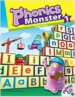 Phonics Monster 1: Student Book (Paperback 1권 + Hybrid CD 2장 + Reader 1권)