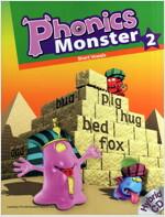 Phonics Monster 2: Student Book (Paperback 1권 + Hybrid CD 2장 + Reader 1권)