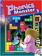 Phonics Monster 3: Student Book (Paperback 1권 + Hybrid CD 2장 + Reader 1권)