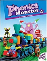 Phonics Monster 4: Student Book (Paperback 1권 + Hybrid CD 2장 +  + Readers 1권)