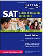 Kaplan SAT Critical Reading Workbook (Paperback, 4th)