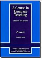 [중고] A Course in Language Teaching: Trainee Book (Paperback)