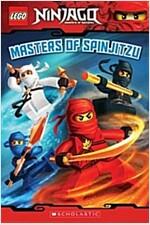 [중고] Masters of Spinjitzu (Lego Ninjago: Reader) (Paperback)