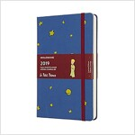 Moleskine 2019 12m Limited Edition Petit Prince Daily, Large, Daily, Blue Antwerp, Hard Cover (5 X 8.25) (Desk)