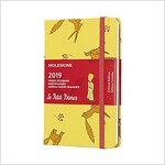 Moleskine 2019 12m Limited Edition Petit Prince Weekly Notebook, Pocket, Weekly Notebook, Yellow Sunflower, Hard Cover (3.5 X 5.5) (Desk)