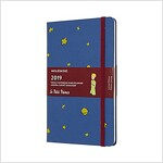 Moleskine 2019 12m Limited Edition Petit Prince Weekly Notebook, Large, Weekly Notebook, Blue Antwerp, Hard Cover (5 X 8.25) (Desk)