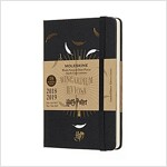 Moleskine 2018-2019 18m Limited Edition Harry Potter Weekly Notebook, Pocket, Weekly Notebook, Black, Hard Cover (3.5 X 5.5) (Desk)