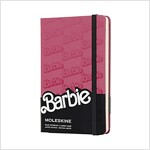 Moleskine Limited Edition Notebook Barbie LOGO, Pocket, Ruled, Pink Hot, Hard Cover (3.5 X 5.5) (Other)