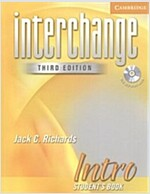 Interchange Intro Student's Book with Audio CD (Package, 3 Rev ed)