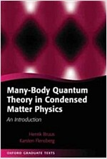 Many-body Quantum Theory in Condensed Matter Physics : An Introduction (Hardcover)