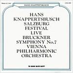 [중고] Hans Knappertsbusch - 브루크너: 교향곡 7번 (Bruckner: Symphony No.7)