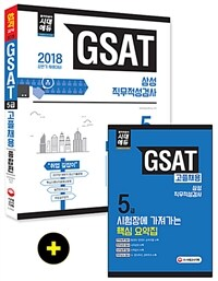 2018 GSAT 삼성그룹 직무적성검사 5급 고졸 채용 종합편