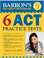 Barron's 6 ACT Practice Tests (Paperback)