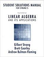 Student Solutions Manual for Strang's Linear Algebra and Its Applications (Paperback, 4)