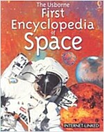 [중고] The Usborne First Encyclopedia of Space (Paperback)