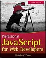 Professional JavaScript for Web Developers (Paperback, 3, Revised)