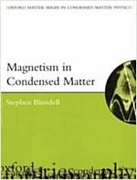 Magnetism in Condensed Matter (Paperback)