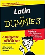 Latin for Dummies (Paperback)