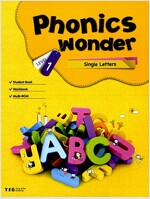 Phonics Wonder 1 : Single Letters (Paperback + CD 2장)