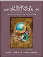 [중고] Speech and Language Processing: An Introduction to Natural Language Processing, Computational Linguistics, and Speech Recognition (Hardcover, 2)