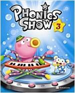 Phonics Show 3: Student Book (Book + Hybrid CD 2장)