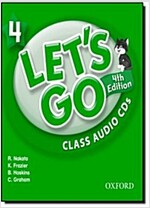 Let's Go: 4: Class Audio CDs (CD-Audio, 4 Revised edition)