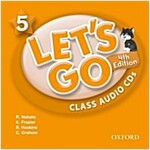 Let's Go: 5: Class Audio CDs (CD-Audio, 4 Revised edition)