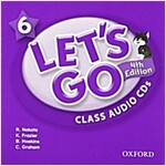 Let's Go: 6: Class Audio CDs (CD-Audio, 4 Revised edition)