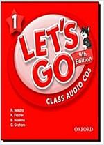 Let's Go 4E: 1: Class Audio CDs (CD-Audio, 4 Revised edition)