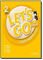 Let's Go: 2: Class Audio CDs (CD-Audio, 4 Revised edition)