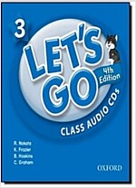 Let's Go: 3: Class Audio CDs (CD-Audio, 4 Revised edition)