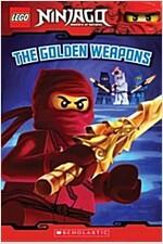 [중고] The Golden Weapons (Lego Ninjago: Reader) (Paperback)