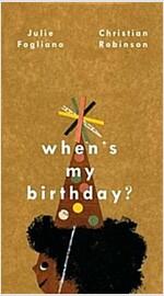 When's My Birthday? (Hardcover)
