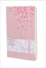 몰스킨 [18벚꽃]룰드/핑크 L